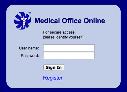 log into Kyrene Internal Medicine Patient Portal